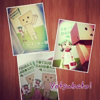 Yotsubato Danbo Exhibition by muttiy
