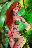 Poison Ivy Colored by RossoWinch