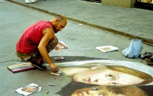 Madonnaro by do-notBotherMe
