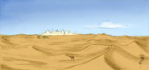 Desert City by Luned