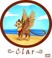 Clar the Gryphon by MangoPearls