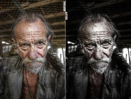 Old Man by ecKKKo