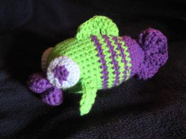 Amigurumi Fish 'Jeremy' by WireMySoul