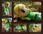 Nintendos Toon Link Backpack by DoloAndElectrik