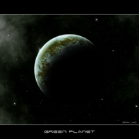green planet by istarlome
