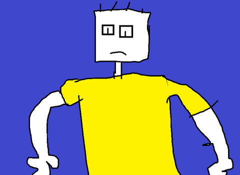 My Drawing of Microsoft sam by CD20Scratch