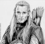LEGOLAS from LOTR by tomjogi