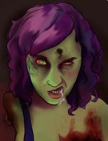 Kaysiell zombie by kaysiell