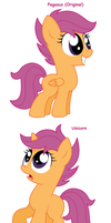 Scootaloo - All Pony Races by Pupster0071