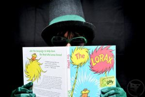 Onceler Greed: Lorax Book by blondewolf2