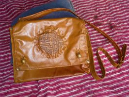 Celtic Messenger Bag by funkydpression