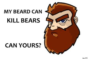 How mighty is your beard? by MoeAlmighty