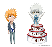 Happy Birthday Ichigo by miiChaneko