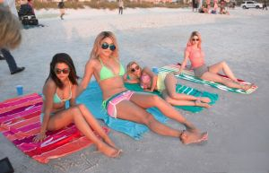 Vanessa Hudgens and friends at the beach by lowerrider