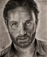 Rick Grimes Walking Dead drawing by ashleymenard122