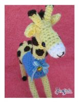 Tumai The Giraffe Amigurumi by CarolBarajas
