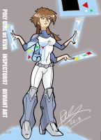 Poly Girl as Kiva by Inspector97