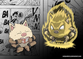 057 Primeape by EnigmaBerry