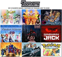 My Favorite shows that aired on Toonami by Deitz94