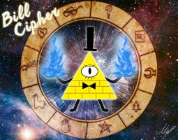 Bill Cipher by MartinsGraphics