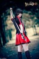 Cosplay : Kisaragi Saya - Blood-C by MaxLy