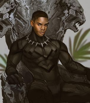 Black Panther by Mstrmagnolia