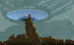 UFO by PsychArtist