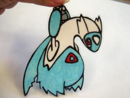 Chibi latios key chain by GasMaskMonster