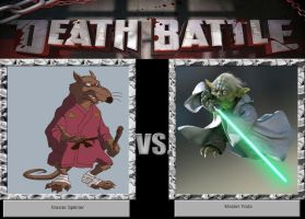 DEATH BATTLE Idea Master Splinter VS Master Yoda by JefimusPrime