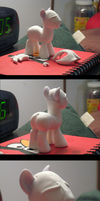 Custom ponysona in the works... by AleximusPrime
