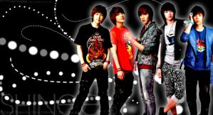 SHINee Wallpaper II by SherinaHime