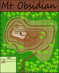 Mt. Obsidian Map by Kdogfour