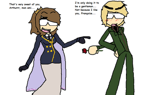 APH - Fem France... and England. by Theeywillnotforceeus