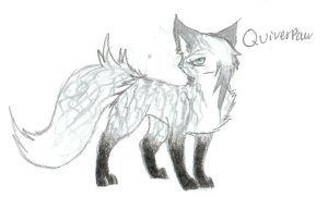 Quiverpaw/Snow by FuneralDyingheart