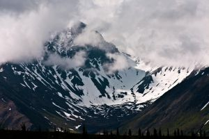 Alaska Mountains I by gerryray