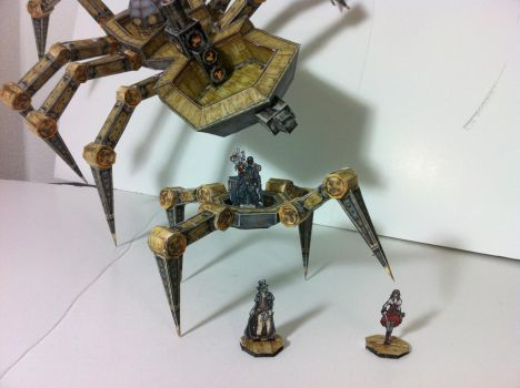 Showing all terrain capabilities of the crawlers   by serseus