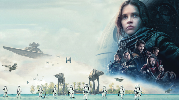 Rogue One Wallpaper (Textless theatrical poster) by Spirit--Of-Adventure