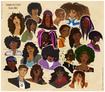 Character Study: Black WoC by Ai-Bee