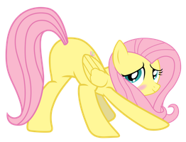 Fluttershy proudly showing her... by Yanoda
