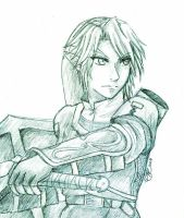The Everlasting Legend- Sketch by HyruleMaster