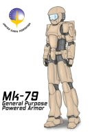 LANCER : MK-79 Powered Armor by OtakuBouzu