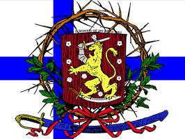 Finland's Coat of Arms by branter