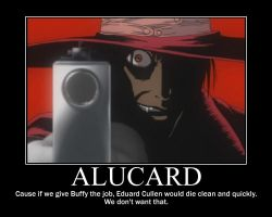 Alucard Motivator by GameChibi