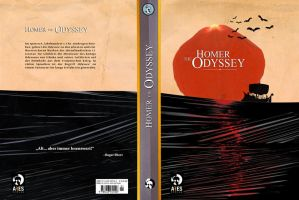 Homers Odyssey - Book Cover by Themrock