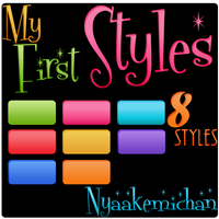 My First Styles Photoshop by NyaAkemiChan