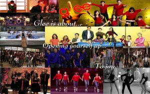 Glee wallpaper collage by iTiffanyBlue
