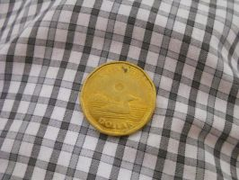Real gold coin by WheresAJacket