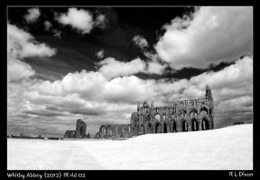 Whitby Abbey 2012 IR rld 02 by richardldixon