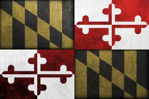 Maryland Flag by 12gaugemage