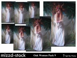 Oak Woman Pack 9 by mizzd-stock